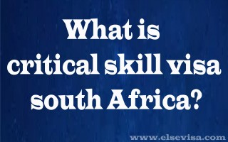 All About South Africa Critical Skill Visa Rejection or Approved  | SA Visa Experts