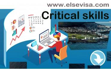Critical skills work visa