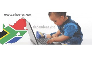 Spouse and dependent children accompanying - South africa visa types