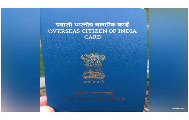 Overseas Citizen of India (OCI) Cardholder