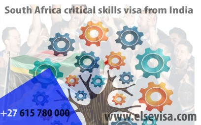 South Africa critical skills visa from India