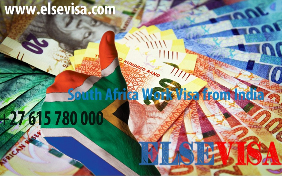 South Africa Work Visa  from India