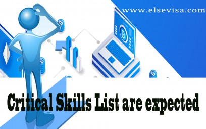 Critical Skills List are expected