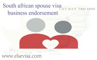 South african spouse visa business endorsement  - Else visa south africa
