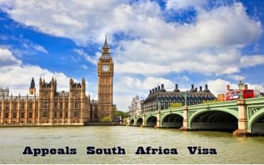 Appeals South Africa Visa