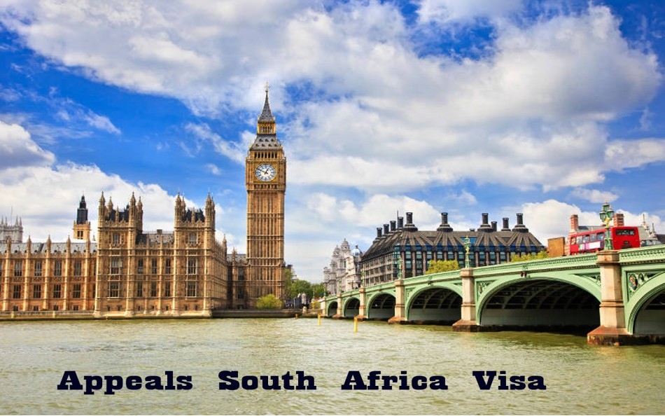 Appeals South Africa Visa