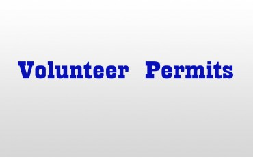 Volunteer Permits