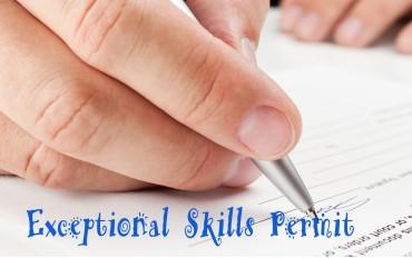 Exceptional Skills Permit