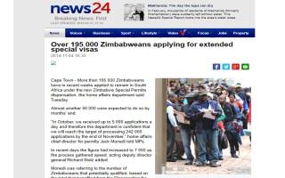Zimbabwean Special Dispensation Visa | South Africa | Else Visa