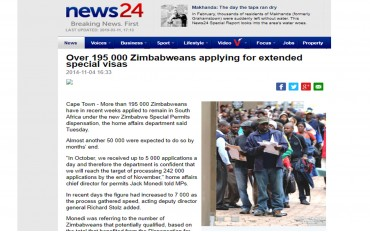 Zimbabwean Special Dispensation Visa