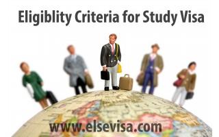 Eligibility Criteria for Study Visa