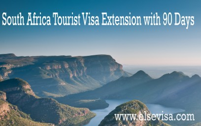 South Africa Tourist Visa Extension with 90 Days