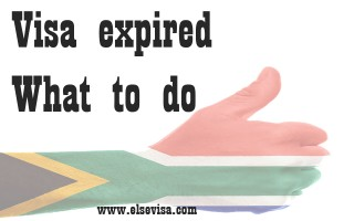 Visa expired what to do | south africa visa renewal