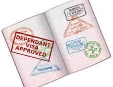 dependent visa south africa